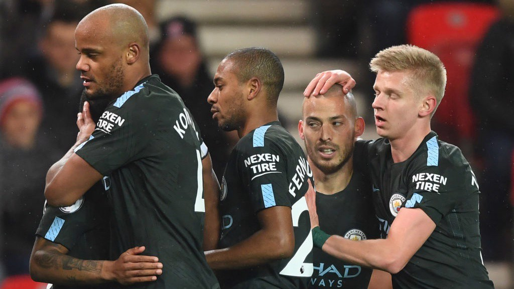 Guardiola gives Jesus first EPL start at Stoke