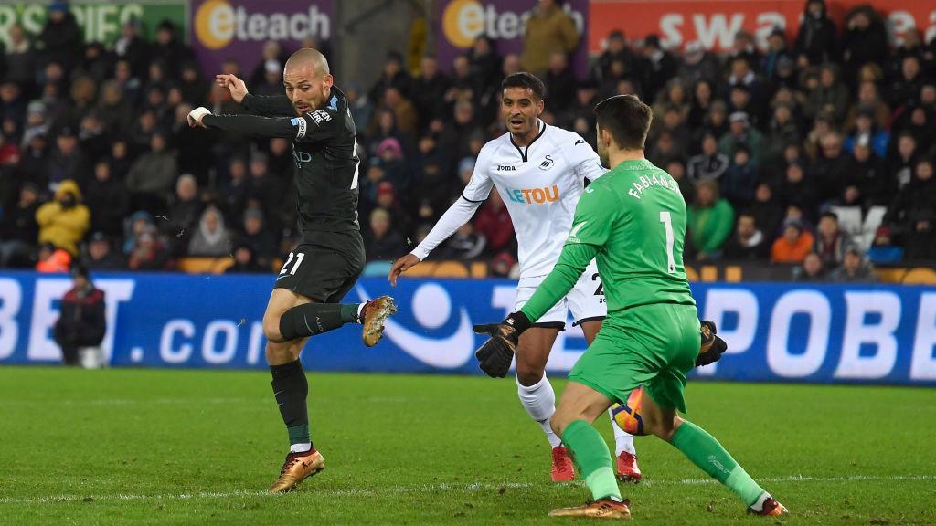 83ac5d19e DEADLOCK BROKEN  David Silva s deft touch from Bernardo s cross hands City  the ...