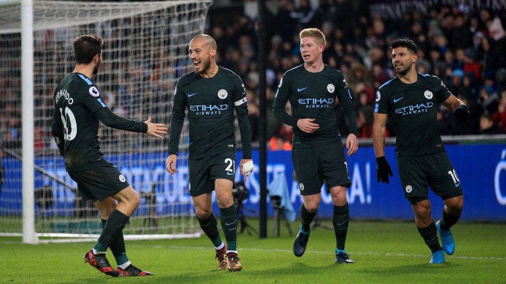 15: City have set a new English top-flight record of 15 successive wins