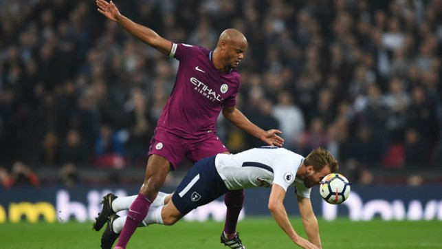 LEADER: Kompany gave a captain's performance