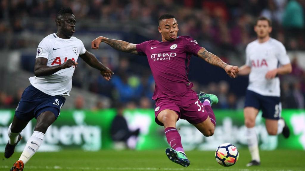 Como sucediese ante el Liverpool, Gabriel Jesus fue el encargado de abrir el marcador.