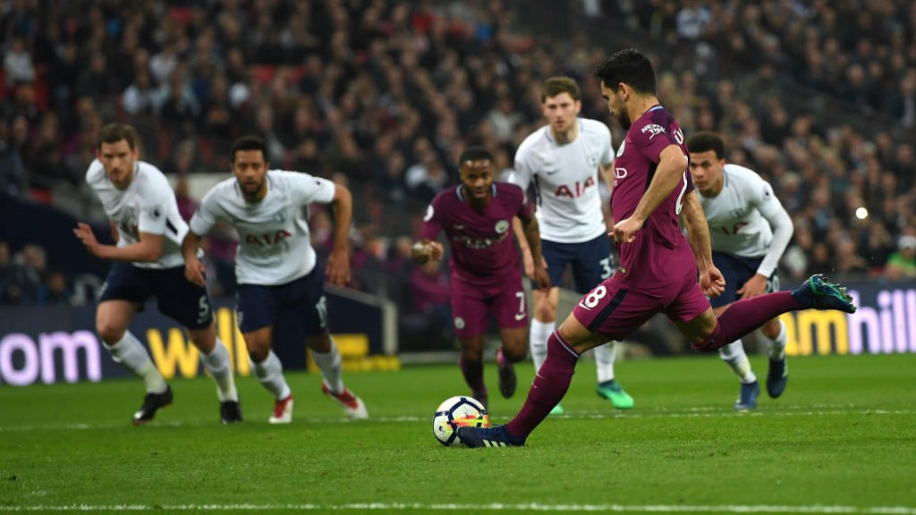 GOAL: Ilkay made no mistake from the spot