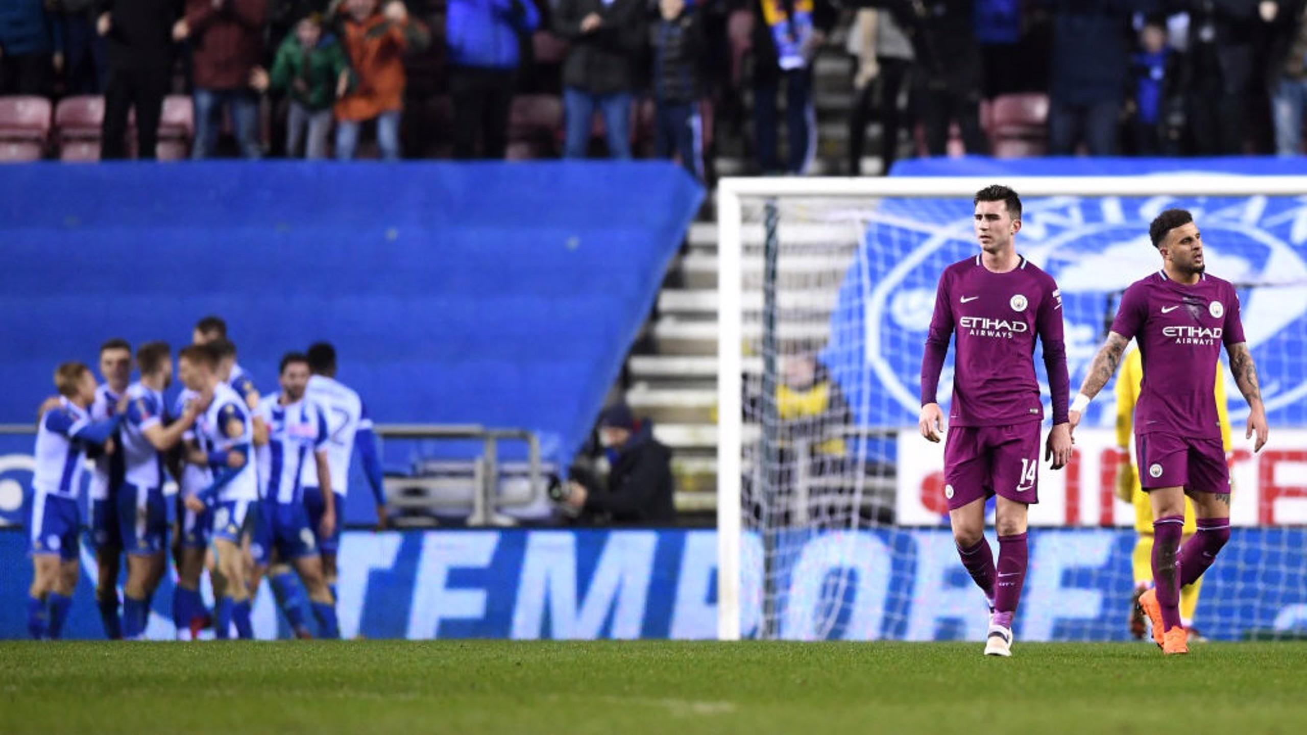 Wigan 1x0 Man City