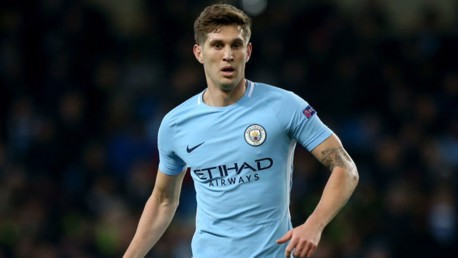 EURO LESSON: John Stones in action during City's Champions League clash with Basel at the Etihad