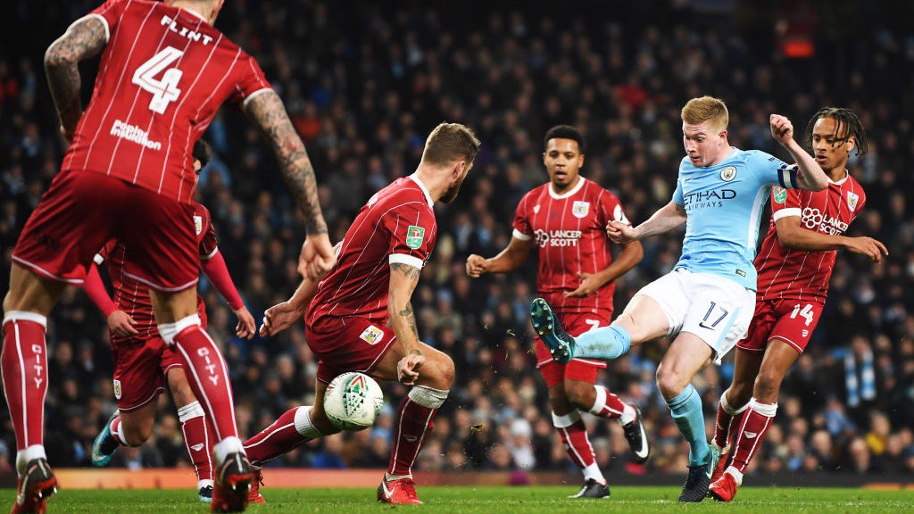 MAN FOR ALL OCCASIONS: KDB, masterful as ever
