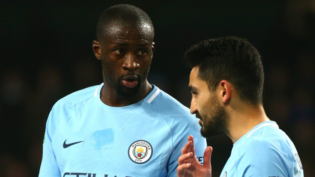 IDEAS: Yaya Toure and Ilkay Gundogan plot a plan of action