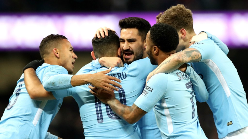 SILKY ILKAY: Ilkay Gundogan claimed two quickfire assists in the FA Cup victory over Burnley
