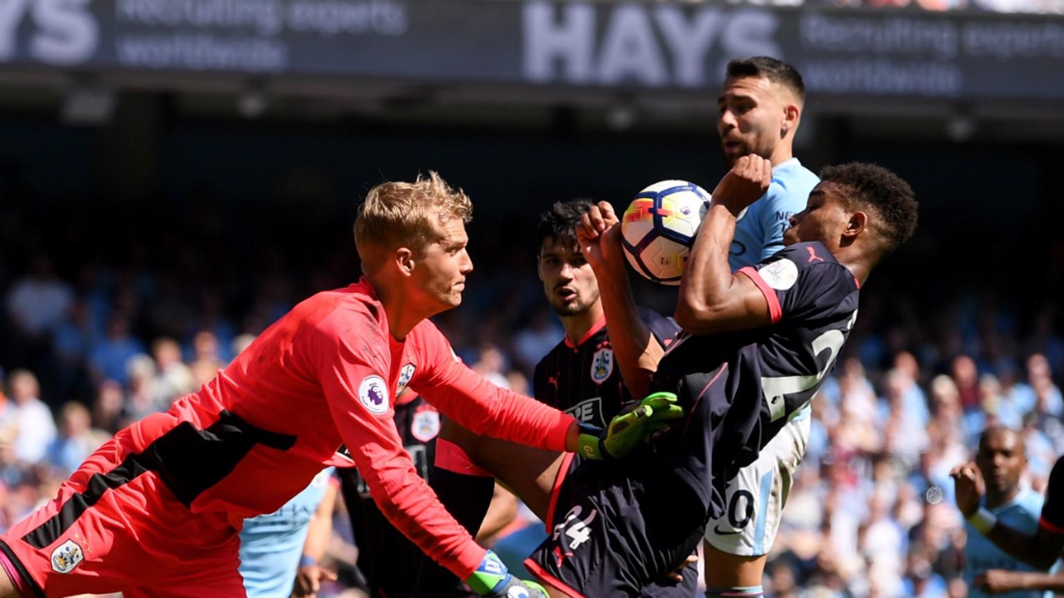 Man City 0x0 Huddersfield
