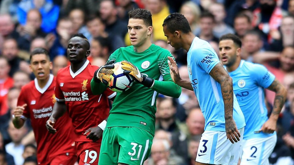 Image result for ederson vs liverpool