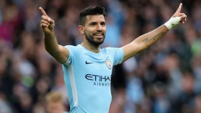 LEGEND: Sergio edges closer to Eric Brook's goalscoring record
