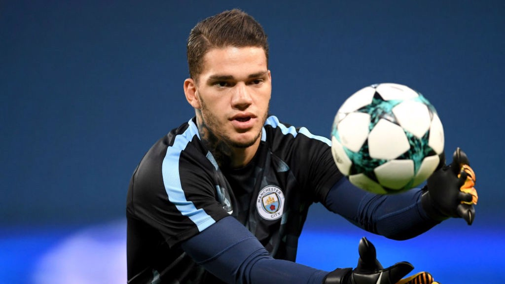 SAFE HANDS: Ederson look solid again
