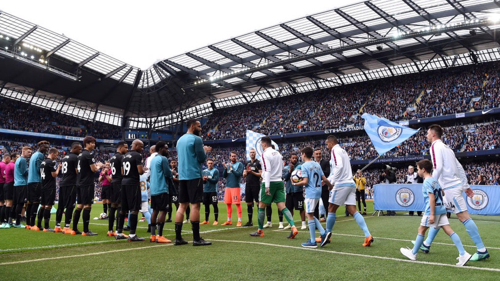 CHAMPIONS: The Blues will parade the Premier League trophy around Manchester next month