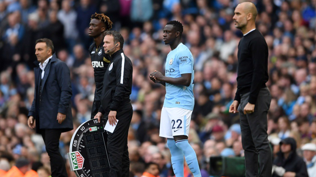 COMEBACK KING: Benjamin Mendy returns to first team action after seven months out.