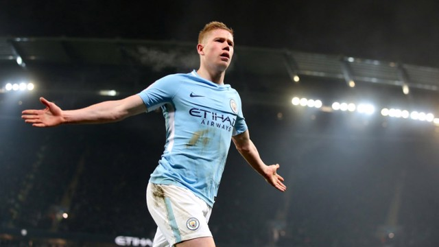 FLAWLESS: Kevin De Bruyne will be key to City's plans against Chelsea