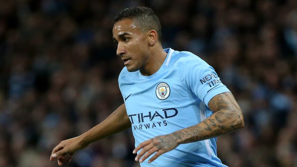 RECALLED: Danilo made his fourth Premier League start