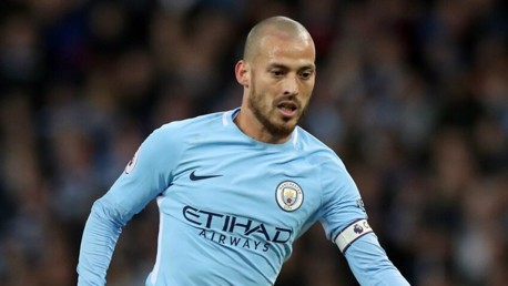 EL MAGO: Fresh from signing his contract extension, David Silva captained the Blues