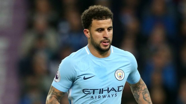 CALM: Kyle Walker remains composed in possession