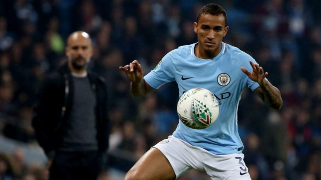 ON THE BALL: Danilo takes control for City