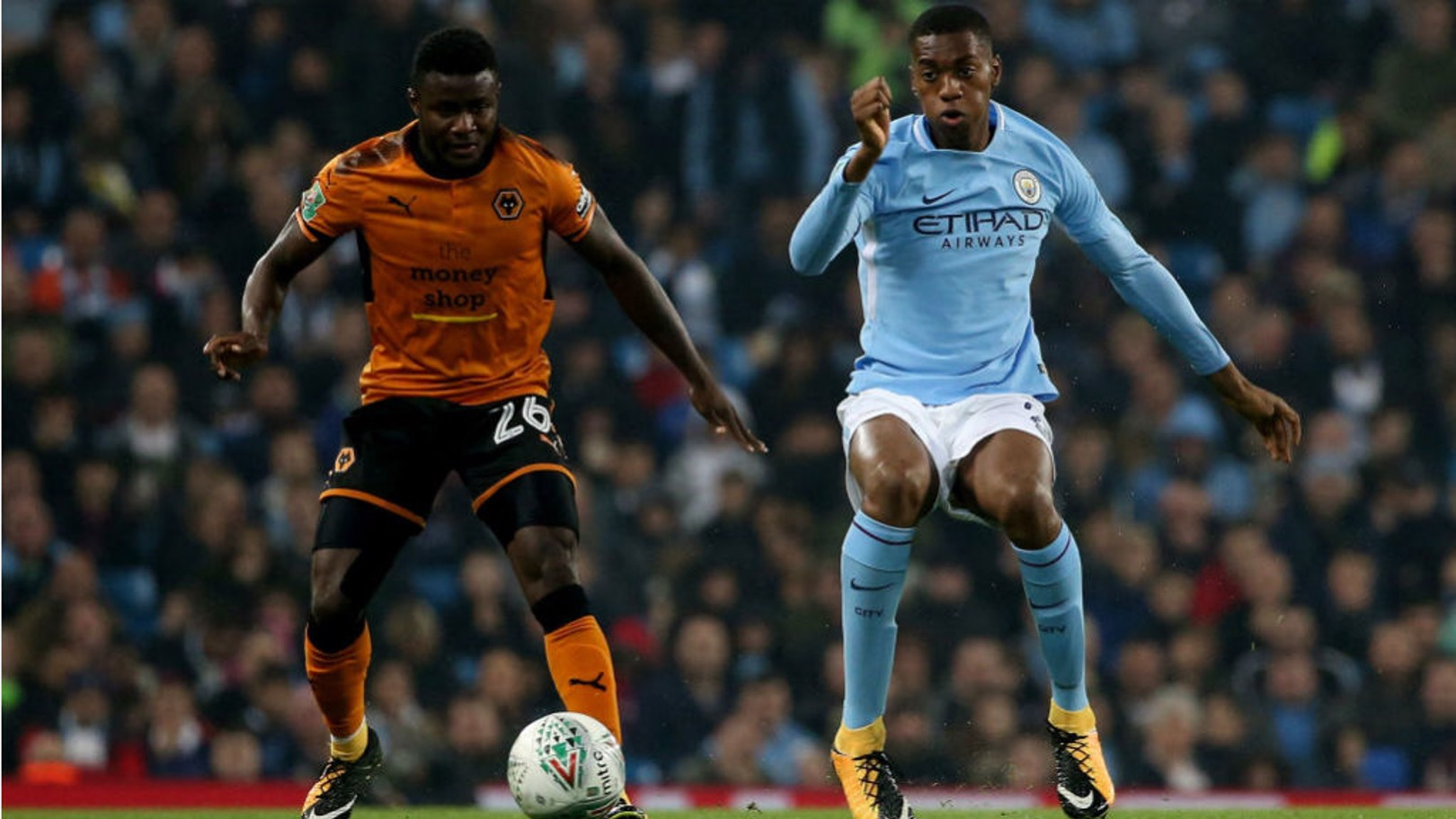 LOAN MOVE: Tosin Adarabioyo will gain valuable first-team experience at West Brom