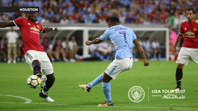 A CITY UNITED: Sterling strikes