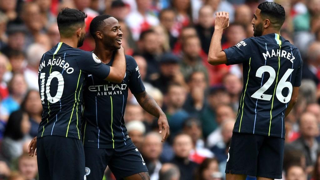 VICTORIA EN LONDRES. El City superó al Arsenal en el primer desplazamiento del curso.