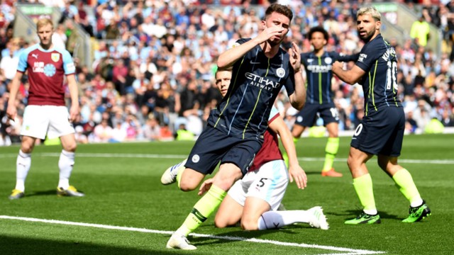 FAST START: City came racing out the blocks after half-time with Aymeric Laporte's header nearly breaking the deadlock.