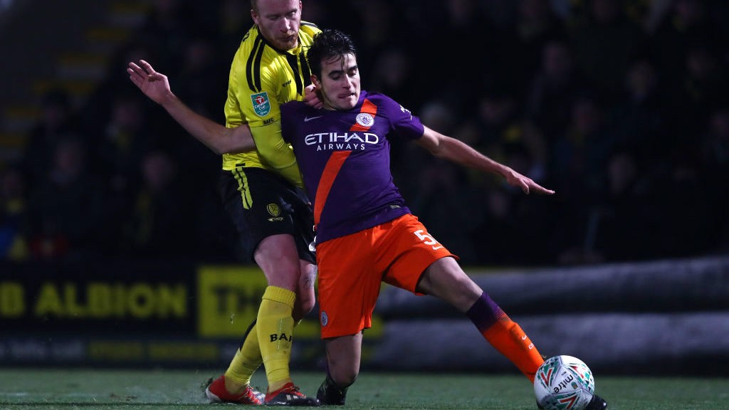 SHINING EXAMPLE: Garcia's first-team opportunities have delighted Nabil Touaizi