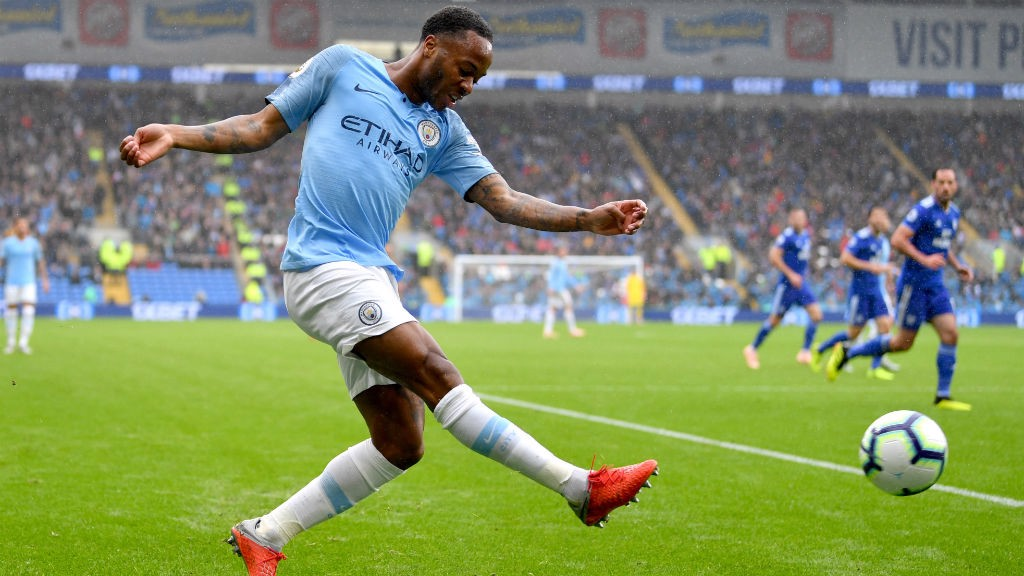 WING WIZARD: Raheem Sterling