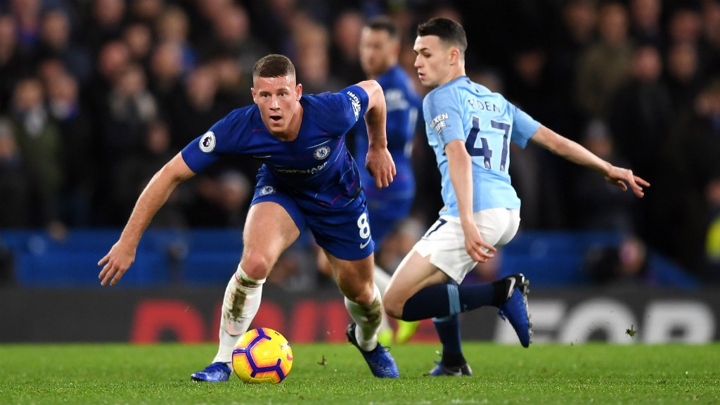 RISING STAR: Phil Foden reflects on a difficult afternoon at Stamford Bridge...