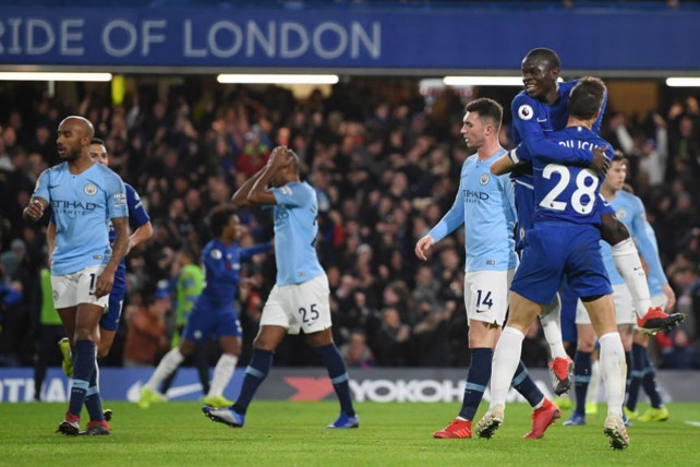 CAPITAL PUNISHMENT: Kante puts Chelsea ahead against the rum of the play