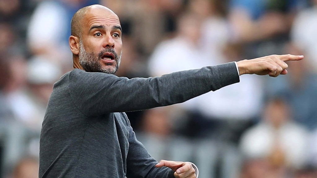 PEP TALK: The boss orchestrates from the dugout