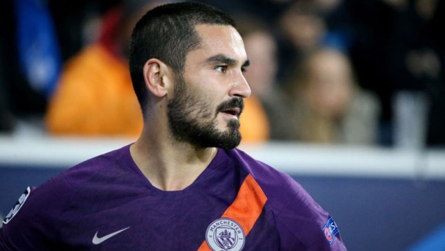 FOCUS: Ilkay Gundogan is a study in concentration on his return to his native Germany