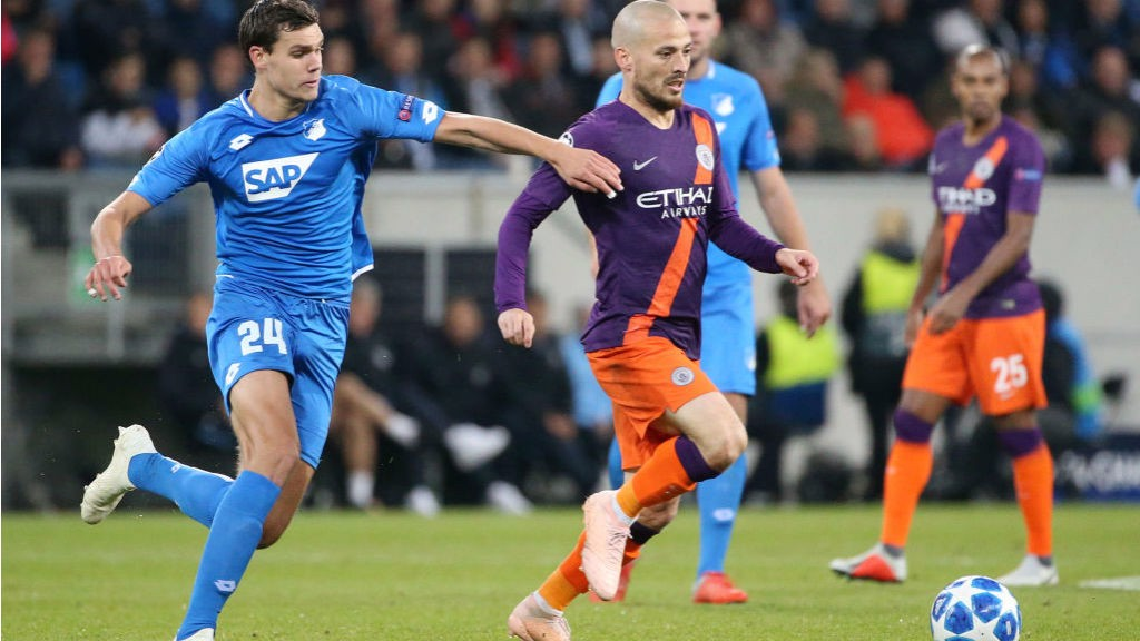 SOLID SILVA: El Mago looks to put City on the front-foot