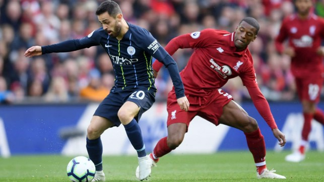 STAR ON SUNDAY: Bernardo Silva looks to put City on the front foot