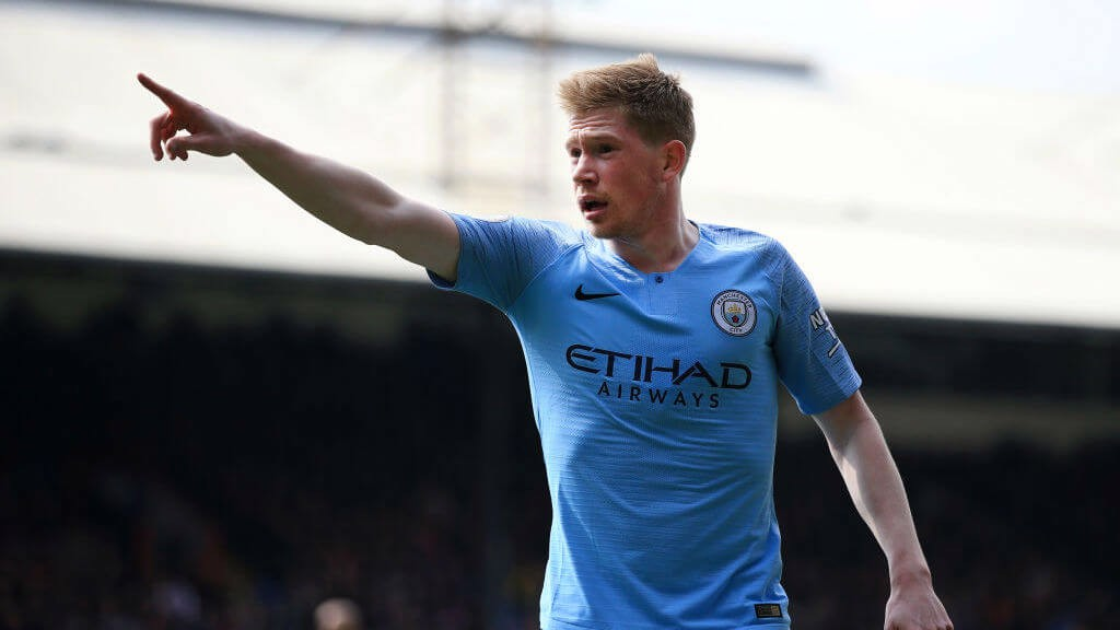 IN CONTROL: KDB taking command.