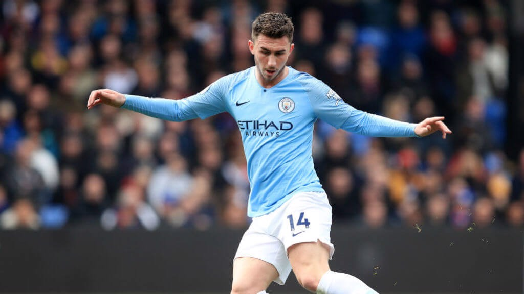 AIN'T NOBODY: ... ever getting past Aymeric Laporte.