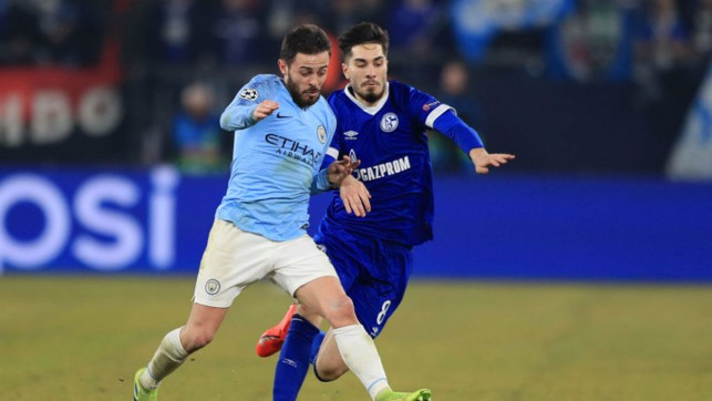 Bernardo Silva pulling the strings in the City midfield