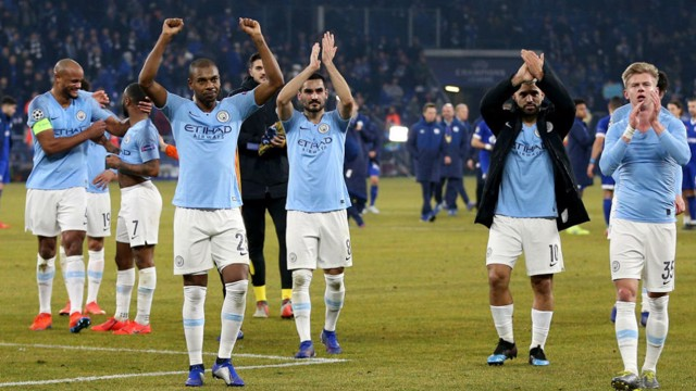 CHAMPIONS LEAGUE: City host Schalke hoping to secure a place in the quarter-finals of this season's competition