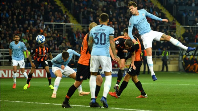 TAKE TWO: Aymeric Laporte doubles our lead by heading in David Silva's corner