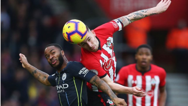 AIR RAID: Raheem vies for an aerial challenge