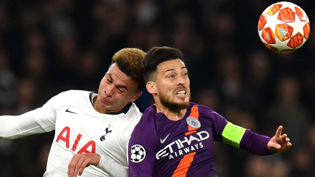 SILVA SPRINGS: David Silva out jumps Dele