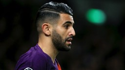 REACTION: Riyad Mahrez reflects on the Champions League defeat to Spurs...