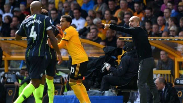 LEADING MAN: Pep Guardiola points the way forward for City