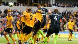 HEAD BOY: Aymeric Laporte powers home City's equaliser