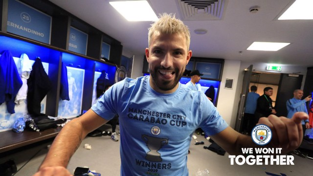 2018/19 Carabao Cup dressing room celebrations!