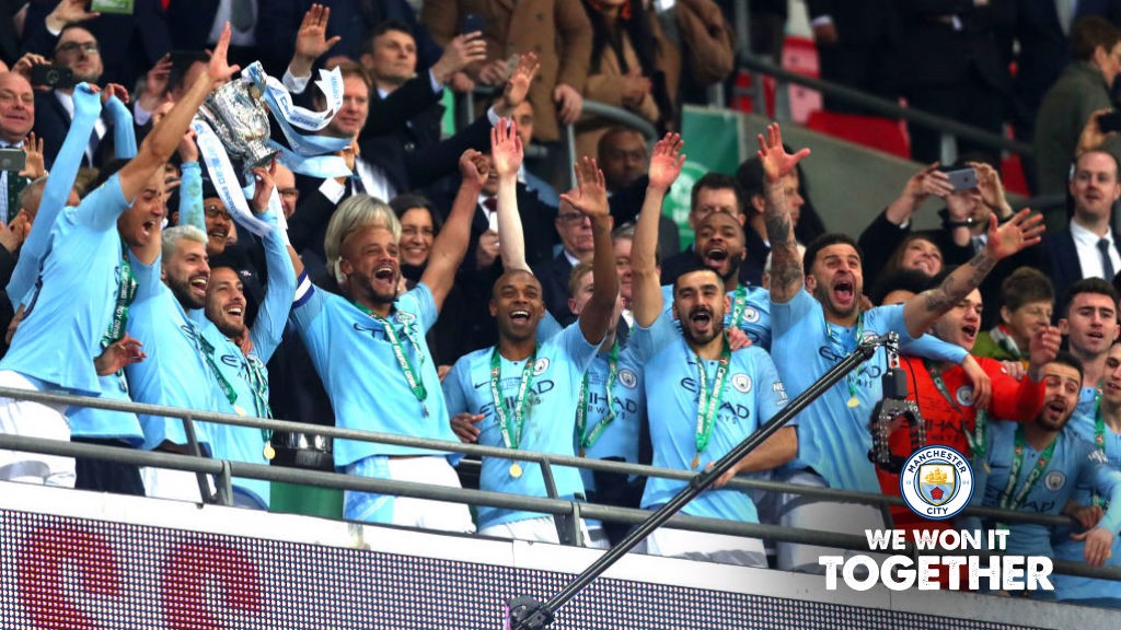 Image result for man city win carabao cup 2019