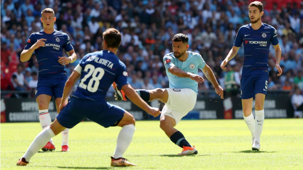 City remporte le Community Shield à Wembley