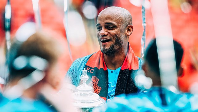 IN GOOD KOMPANY: Vincent soaks up the atmosphere