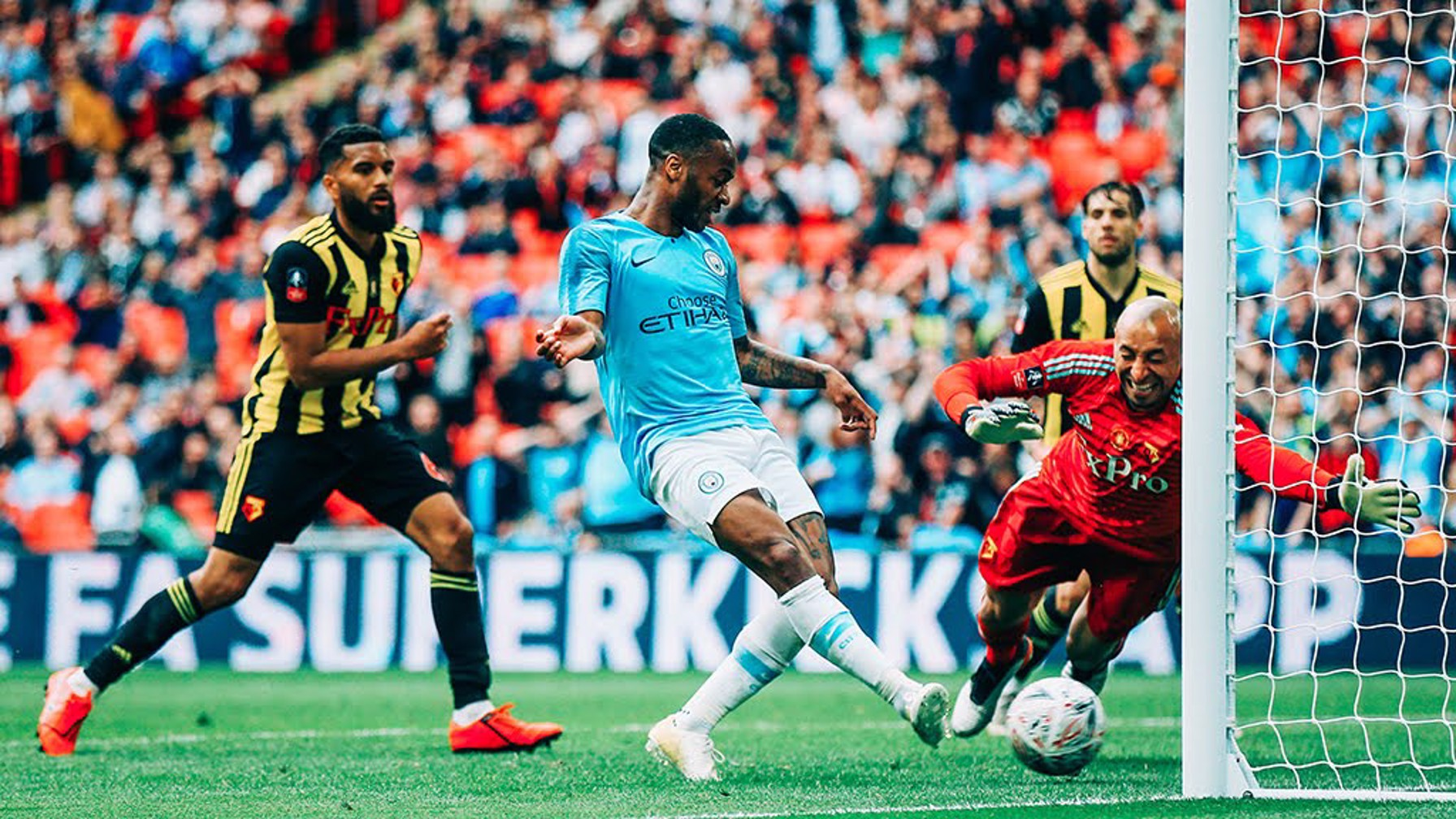 TAP IN: Raheem adds further gloss to the score
