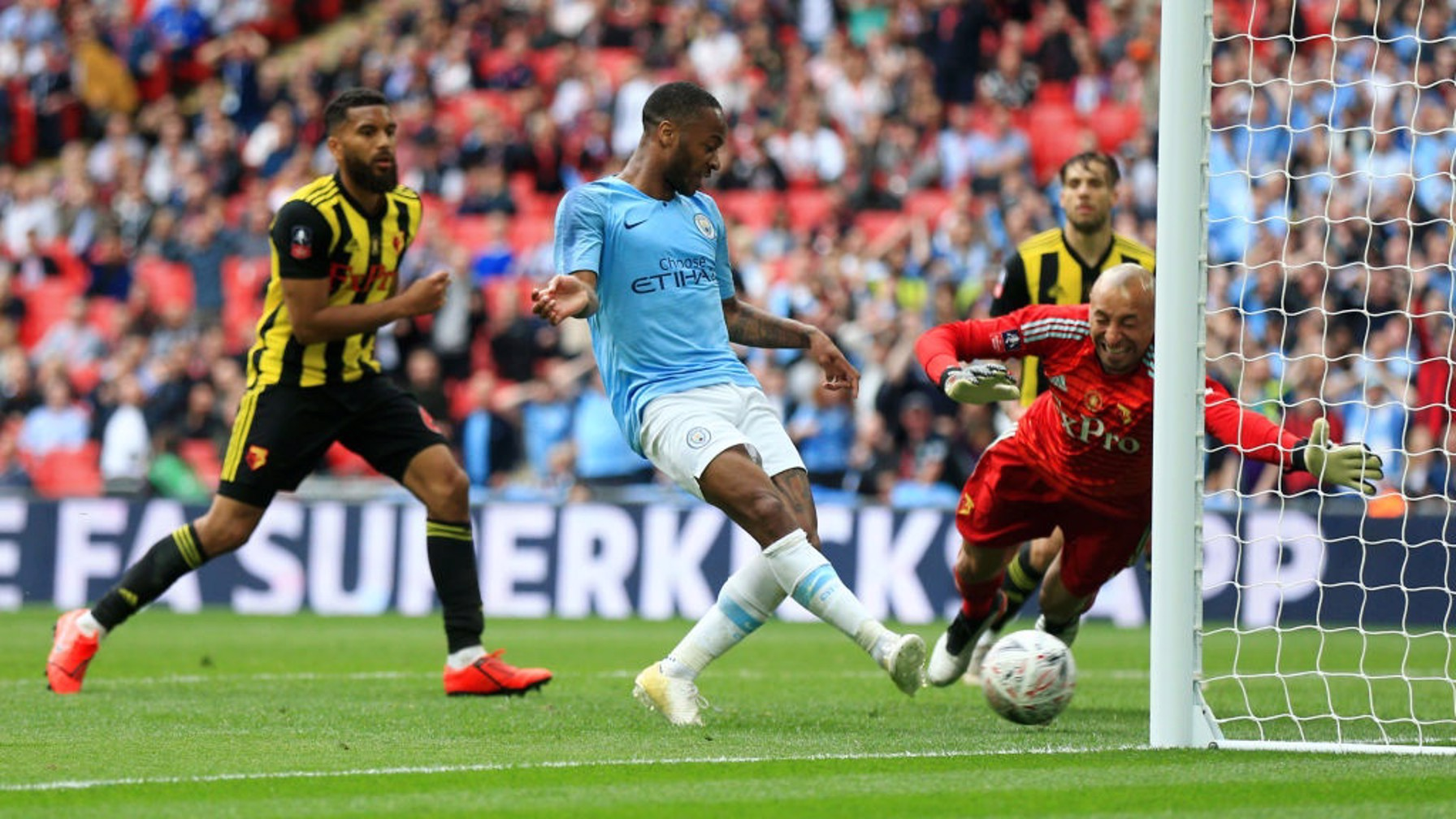 STERLING EFFORT: No doubt about the fifth either